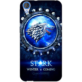 Jugaaduu Game Of Thrones GOT House Stark Back Cover Case For HTC Desire 820 - J281555
