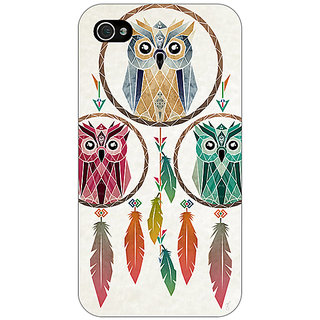Jugaaduu Dream Catcher  Back Cover Case For Apple iPhone 4 - J10197
