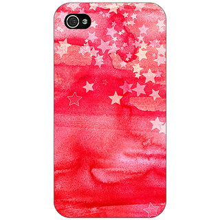 Jugaaduu Star Afternoon Pattern Back Cover Case For Apple iPhone 4 - J10220