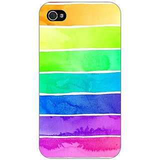 Jugaaduu Shades Of Life Pattern Back Cover Case For Apple iPhone 4 - J10250