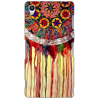 Jugaaduu Abstract Dream Catcher Pattern Back Cover Case For Sony Xperia Z3 - J261508