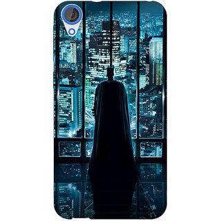 Jugaaduu Superheroes Batman Dark knight Back Cover Case For HTC Desire 820Q - J290002