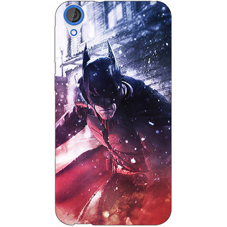 Jugaaduu Superheroes Batman Dark knight Back Cover Case For HTC Desire 820Q - J290020