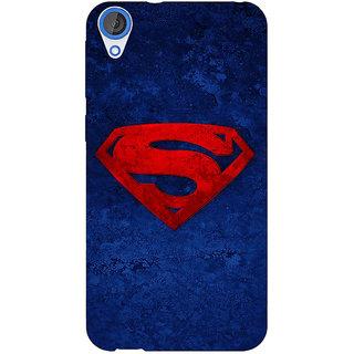 Jugaaduu Superheroes Superman Back Cover Case For HTC Desire 820Q - J290022