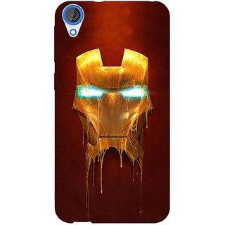 Jugaaduu Superheroes Ironman Back Cover Case For HTC Desire 820Q - J290025