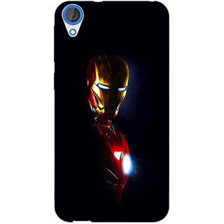 Jugaaduu Superheroes Ironman Back Cover Case For HTC Desire 820Q - J290026