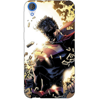 Jugaaduu Superheroes Superman Back Cover Case For HTC Desire 820Q - J290039