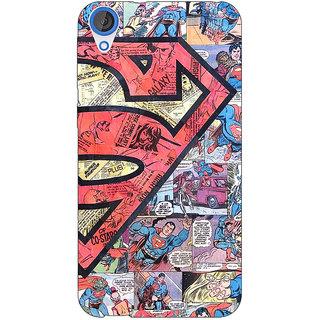Jugaaduu Superheroes Superman Back Cover Case For HTC Desire 820Q - J290044