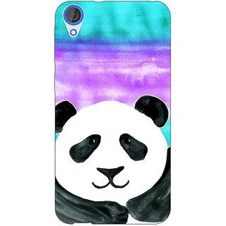 Jugaaduu Panda Pattern Back Cover Case For HTC Desire 820 - J280206