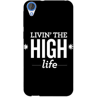 Jugaaduu Weed Quotes Back Cover Case For HTC Desire 820 - J280499