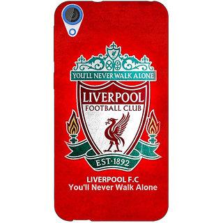 Jugaaduu Liverpool Back Cover Case For HTC Desire 820 - J280542