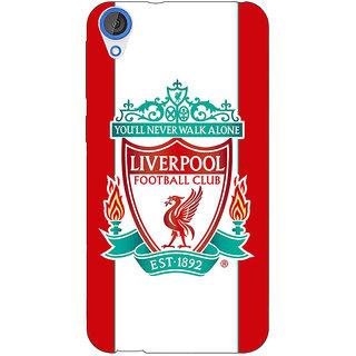 Jugaaduu Liverpool Back Cover Case For HTC Desire 820 - J280544
