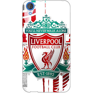 Jugaaduu Liverpool Back Cover Case For HTC Desire 820 - J280549