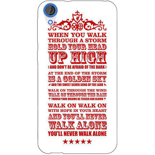Jugaaduu Liverpool Back Cover Case For HTC Desire 820 - J280551