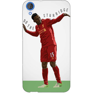 Jugaaduu Liverpool Sturridge Back Cover Case For HTC Desire 820 - J280552
