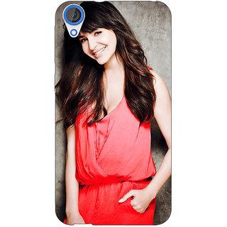 Jugaaduu Bollywood Superstar Anushka Sharma Back Cover Case For HTC Desire 820 - J281031