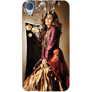 Jugaaduu Bollywood Superstar Chitrangada Singh Back Cover Case For HTC Desire 820 - J281033