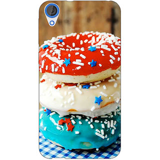 Jugaaduu Donuts Back Cover Case For HTC Desire 820 - J281222