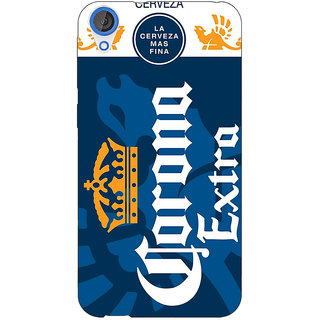 Jugaaduu Corona Beer Back Cover Case For HTC Desire 820 - J281249