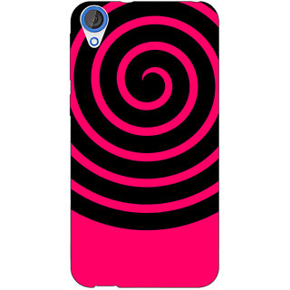 Jugaaduu Hippie Psychedelic Back Cover Case For HTC Desire 820 - J281271