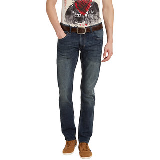 Flying Machine Jackson Skinny Fit Mens Denim With Whiskers