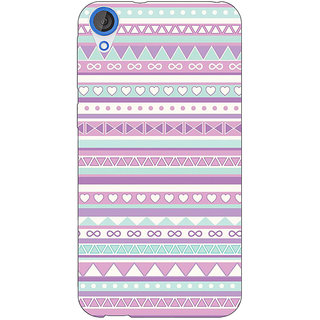 Jugaaduu Aztec Girly Tribal Back Cover Case For HTC Desire 820Q - J290054