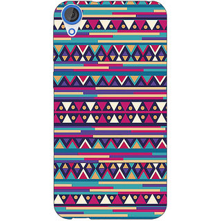 Jugaaduu Aztec Girly Tribal Back Cover Case For HTC Desire 820Q - J290063