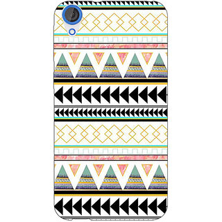 Jugaaduu Aztec Girly Tribal Back Cover Case For HTC Desire 820Q - J290067