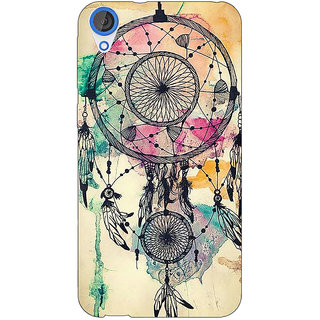 Jugaaduu Dream Catcher Back Cover Case For HTC Desire 820Q - J290087