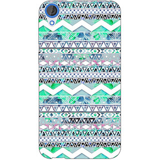 Jugaaduu Aztec Girly Tribal Back Cover Case For HTC Desire 820Q - J290100