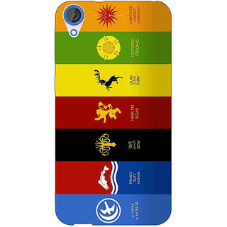 Jugaaduu Game Of Thrones GOT  Back Cover Case For HTC Desire 820Q - J290115