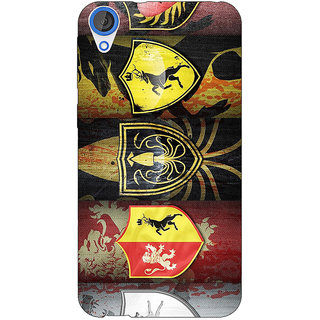 Jugaaduu Game Of Thrones GOT  Back Cover Case For HTC Desire 820Q - J290117