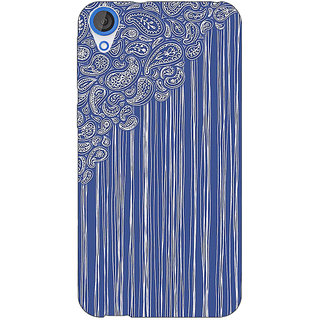 Jugaaduu Beauty Curtains Pattern Back Cover Case For HTC Desire 820 - J280239