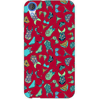 Jugaaduu Inners Pattern Back Cover Case For HTC Desire 820 - J280245