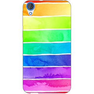 Jugaaduu Shades Of Life Pattern Back Cover Case For HTC Desire 820 - J280250