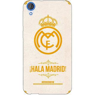 Jugaaduu Real Madrid Back Cover Case For HTC Desire 820 - J280593