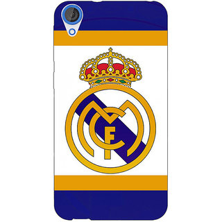 Jugaaduu Real Madrid Back Cover Case For HTC Desire 820 - J280594