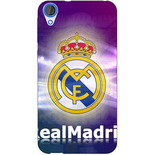 Jugaaduu Real Madrid Back Cover Case For HTC Desire 820 - J280595