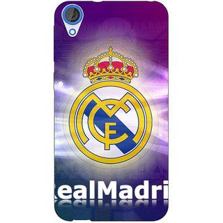 Jugaaduu Real Madrid Back Cover Case For HTC Desire 820 - J280595