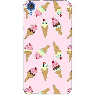 Jugaaduu Ice Cream Doodle Back Cover Case For HTC Desire 820 - J281326
