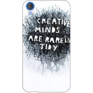 Jugaaduu Quote Back Cover Case For HTC Desire 820 - J281356