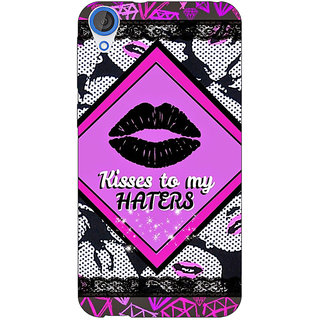 Jugaaduu Kiss Back Cover Case For HTC Desire 820 - J281390