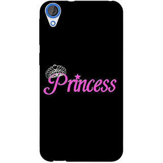Jugaaduu Princess Back Cover Case For HTC Desire 820 - J281398
