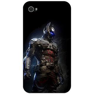 Jugaaduu Superheroes Batman Dark knight Back Cover Case For Apple iPhone 4 - J10009