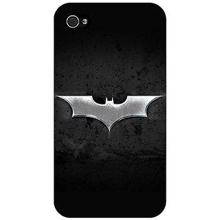 Jugaaduu Superheroes Batman Dark knight Back Cover Case For Apple iPhone 4 - J10010