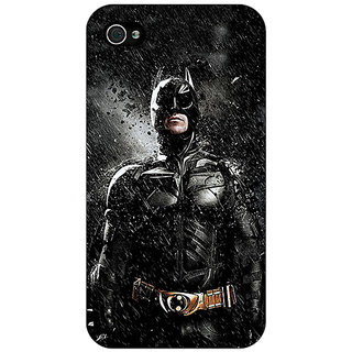 Jugaaduu Superheroes Batman Dark knight Back Cover Case For Apple iPhone 4 - J10016