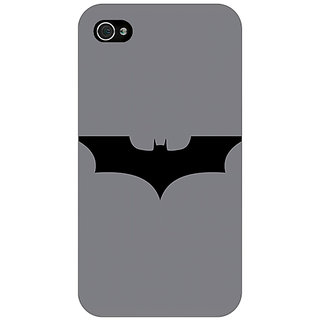 Jugaaduu Superheroes Batman Dark knight Back Cover Case For Apple iPhone 4 - J10018
