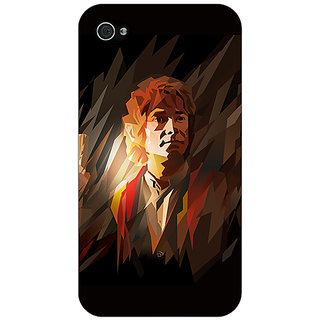Jugaaduu LOTR Hobbit  Back Cover Case For Apple iPhone 4 - J10370
