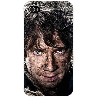 Jugaaduu LOTR Hobbit  Back Cover Case For Apple iPhone 4 - J10373