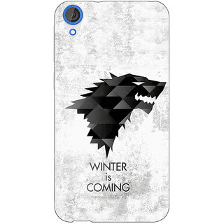 Jugaaduu Game Of Thrones GOT House Stark  Back Cover Case For HTC Desire 820Q - J290130